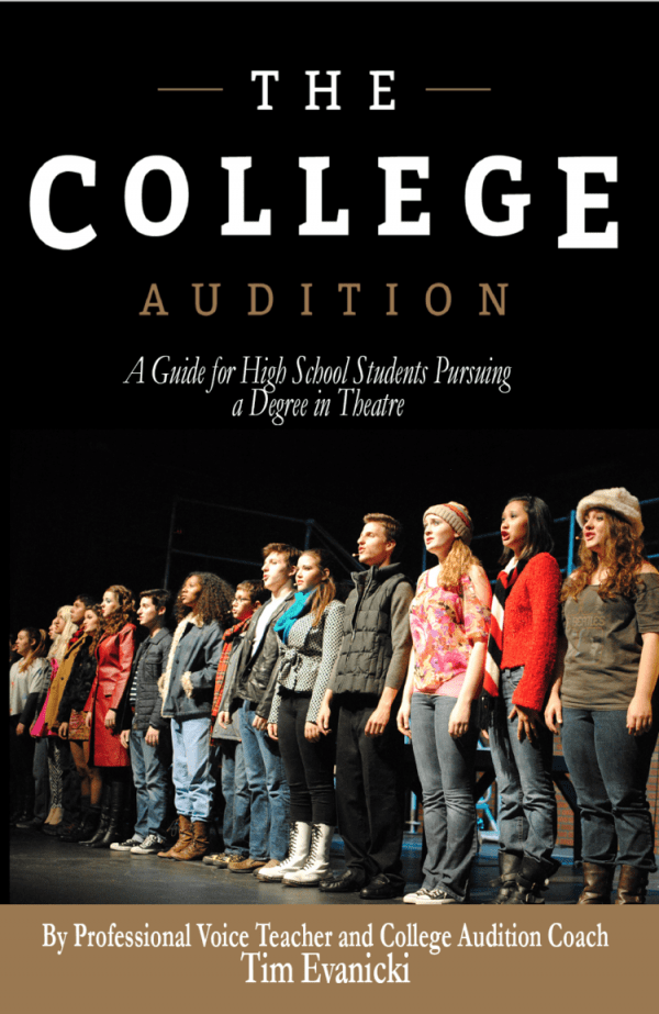 The College Audition Guide Book Tim Evanicki Coach